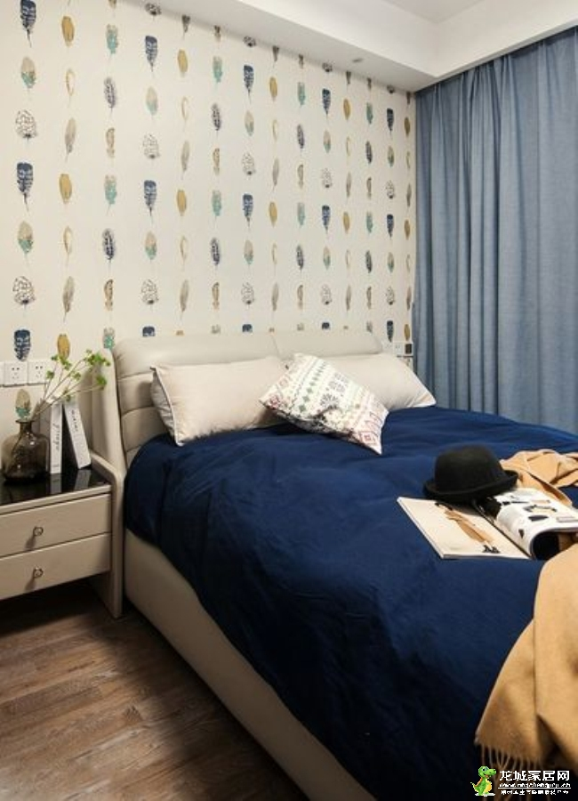 【尚枫澜湾】128平三居室现代简约风格