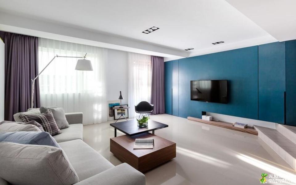 【高成天鹅湖】127平三居室现代简约风格